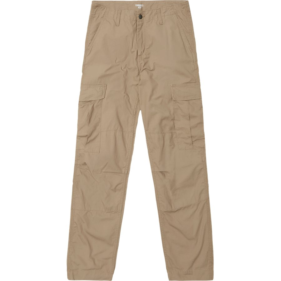 REGULAR CARGO PANT-I015875 - Cargo Pants - Bukser - Regular - LEATHER RINSED - 2